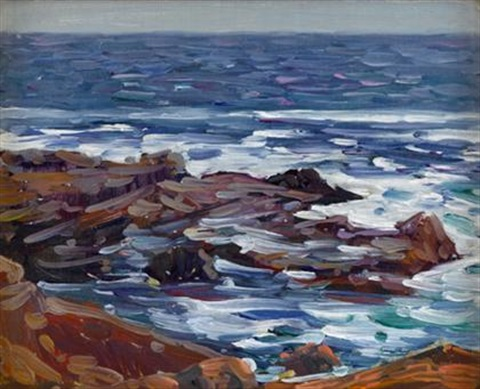 flowing tide by charles salis kaelin