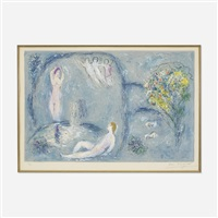 la caverne des nymphes by marc chagall