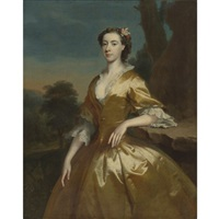 portrait of mrs. joshua iremonger by joseph highmore