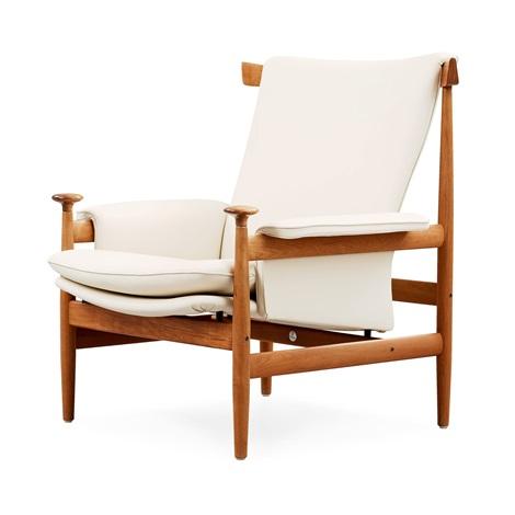 a finn juhl bwana easy chair by finn juhl on artnet