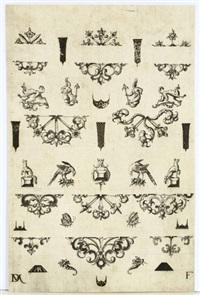 ornamentstichblatt by daniel mignot
