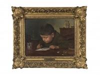l'écolier attentif by alexandre cabanel