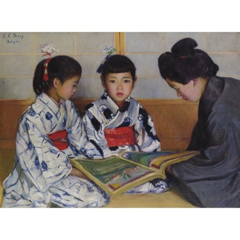the picturebook by lilla cabot perry