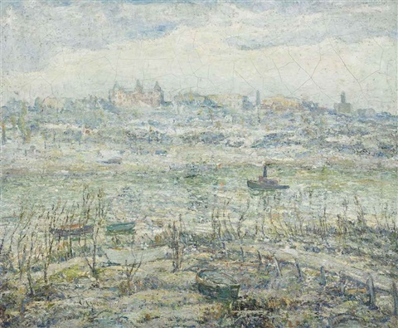 the harlem river by ernest lawson