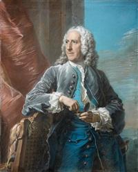 portrait d'etienne perrinet, sieur de jars et de boucart by maurice quentin de la tour