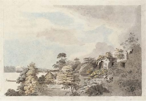 scene in the sunderbunds chittagong district by hubert cornish