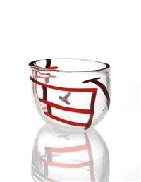 gatto vase, from the a macchie series by fulvio bianconi