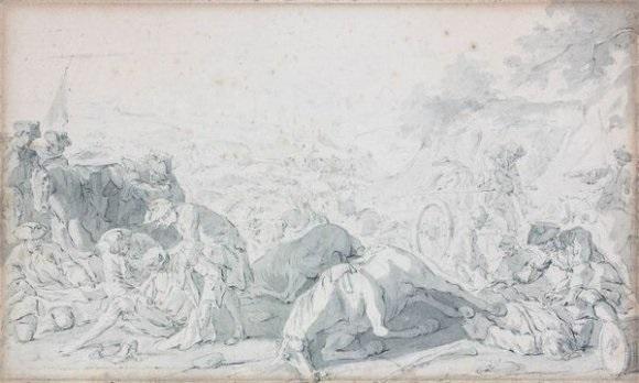 scène de bataille by charles parrocel
