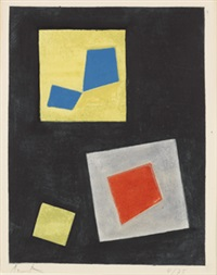 compositions ii by hans arp