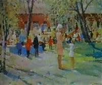 jardin d'enfant by nikolai tchouprina