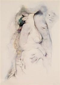 l'abbraccio by renzo vespignani