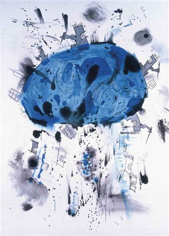 blue planet by carroll dunham