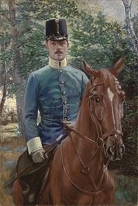 an austrian cavalry officer by robert heinrich freiherr von doblhoff