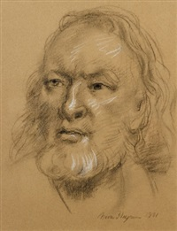 merv lilly by nora heysen