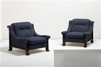 lounge chairs (pair) by ernesto radaelli