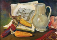 nature morte au maïs by eugene konopatzky