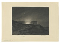 headlights over the hill, seaford by frank short