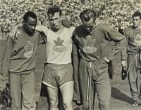 die kanadische fußballmannschaft by leni riefenstahl