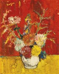vase de fleurs by bernard lorjou