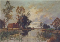 landschaft by a. herbe