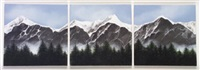 alpine scape iv (in 3 parts) by susan conneff
