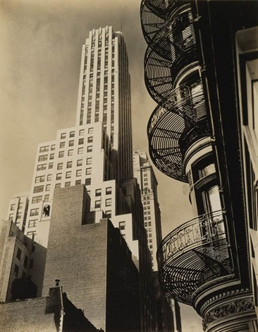 murray hill hotel spiral by berenice abbott