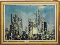 oil refinery by jean theobald jacus