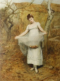 autumn by sir william quiller orchardson