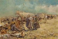 au camp by jaroslav friedrich julius vesin