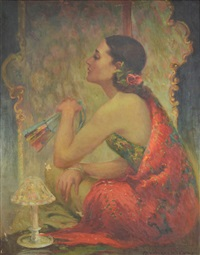 the exotic woman by oscar theodore jackman