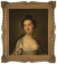 portrait of a lady (charleston lady?) by john wollaston