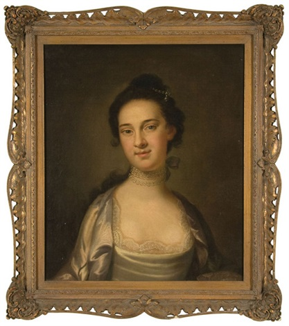 portrait of a lady charleston lady by john wollaston