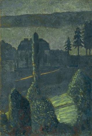 brume au matin à châteauneuf du faon by paul sérusier