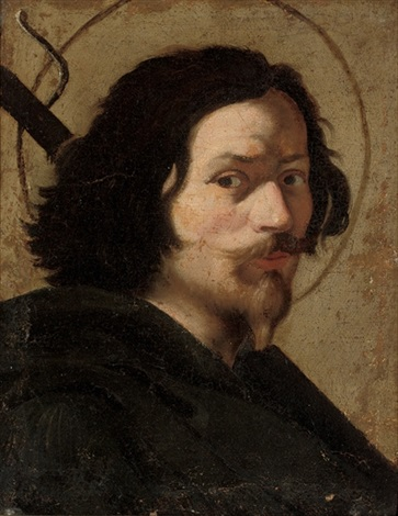portrait of the artist as saint james the great by gian lorenzo bernini