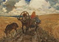 in the field by mikhail ivanovich avilov