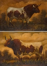 toros (+ 4 others; 5 works) by a. amodeo