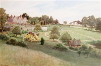 barton manor, east cowes by cyril ward