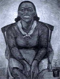 untitled - portrait of a woman by isabelle chestnut reid