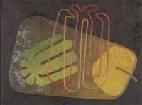 abstrahiertes stillleben by ernst a. maass