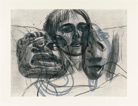 untitled set of 7 by david salle