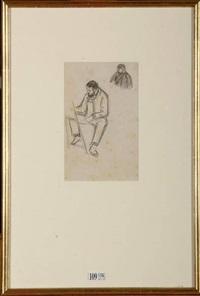 dans l'atelier (sketch) by henri evenepoel