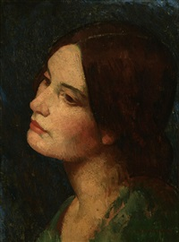 portrait of a woman by mischa askenazy