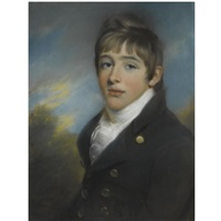 portrait of george sydenham by john russell