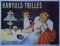 banyuls-trilles. apéritif au quinquina, banyuls-sur-mer by marcellin auzolle
