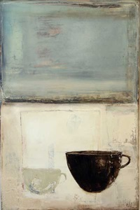 still life - two cups by angi allen
