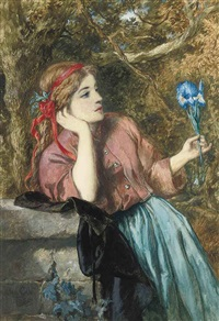 the iris by sir john gilbert