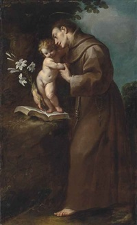 saint anthony of padua with the infant christ by carlo francesco nuvolone