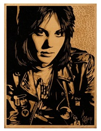 joan jett by shepard fairey