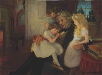 the children's hour by jessie willcox smith
