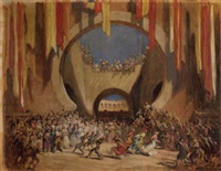 scene from carmen by panos aravantinos